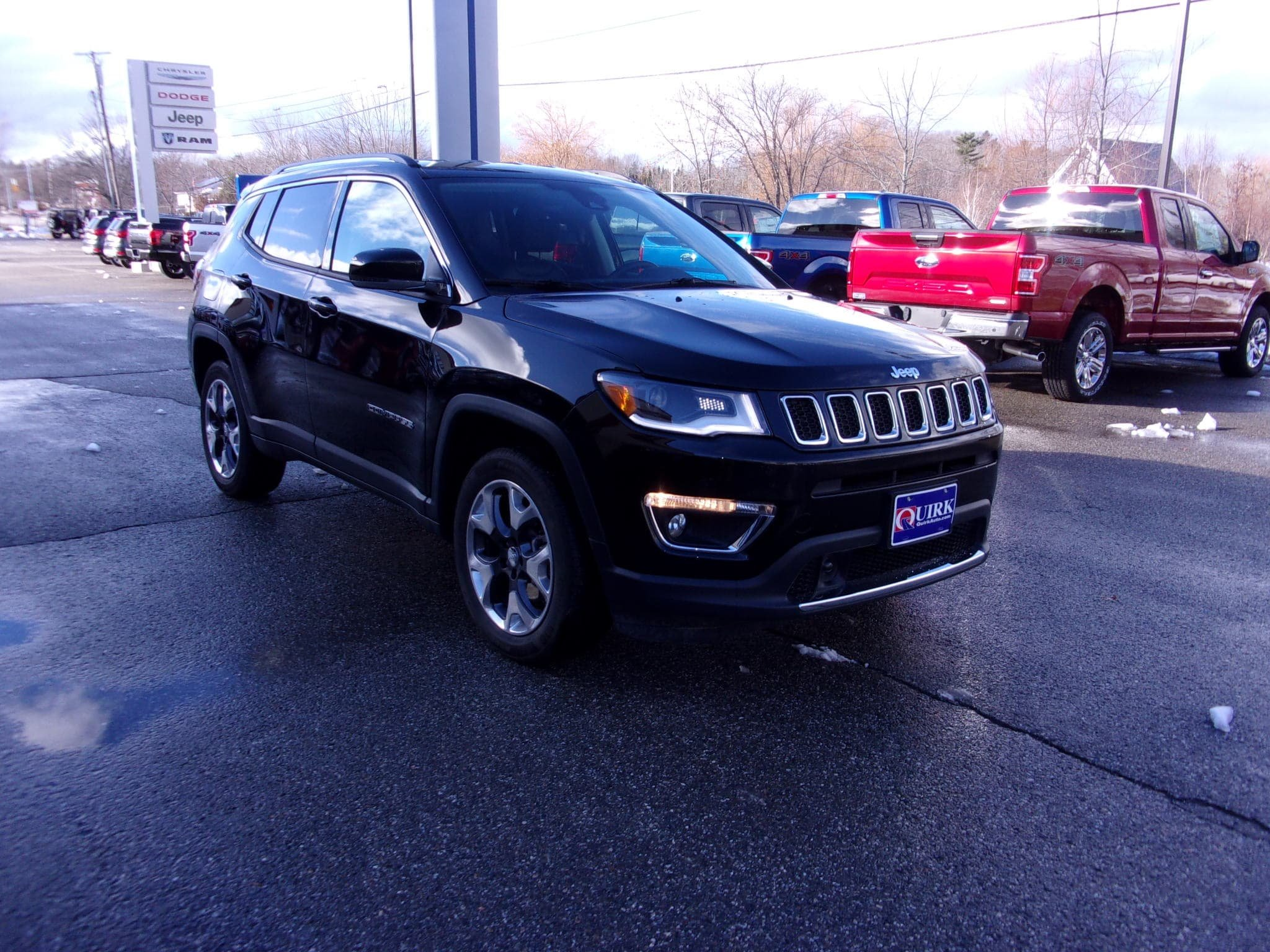 Pre Owned 2018 Jeep Compass Limited Sport Utility In Bangor Bf1018p