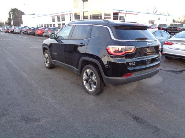 Pre Owned 2018 Jeep Compass Limited Sport Utility In Bangor C10341p