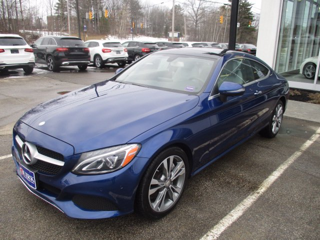 Certified Pre-Owned 2017 Mercedes-Benz C 300 4MATIC® Coupe