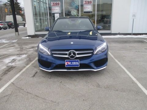 Certified Pre-Owned 2017 Mercedes-Benz C 300 4MATIC®